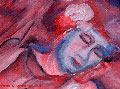 Impressionistic style of a sleeper